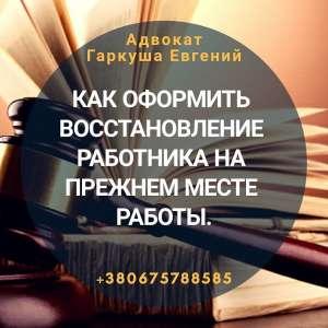 Адвокат по трудових справах Київ. - изображение 1