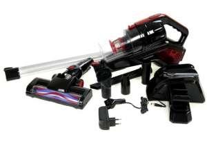 Аккумуляторный пылесос SilverCrest Silver Crest черный-красный M17-170078 - изображение 1