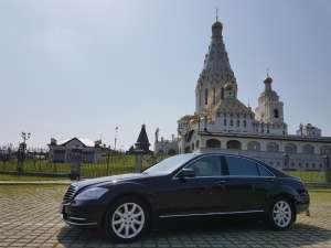 Аренда авто с водителем в Минске. Mercedes W221 S500 Long - изображение 1