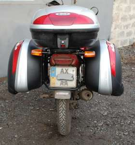 Багажные системы, дуги безопасности, боковые рамки для мотоциклов. - изображение 1