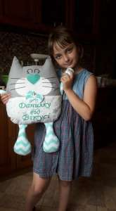 Бортики, именные игрушки, подушки, буквы для детской комнаты - изображение 1
