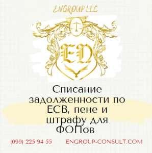 Бухгалтерские услуги для ФОП, списание ЕСВ, пени и штрафов - изображение 1
