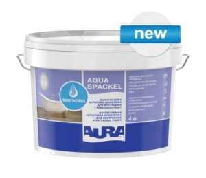 Влагостойкая акриловая шпаклевка Aura Luxpro Aqua Spackel (16 кг.) - изображение 1