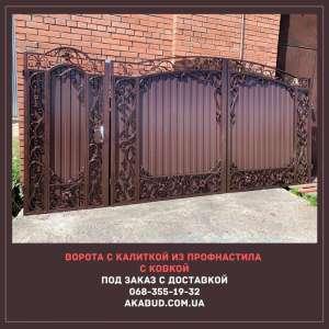 Ворота, решетки, автонавесы, калитки, двери, козырьки - изображение 1