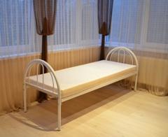 Двухъярусные, одноярусные кровати металлические - изображение 1
