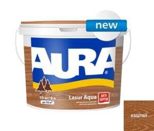 Декоративно-защитное средство для древесины Aura Lasur Aqua - изображение 1