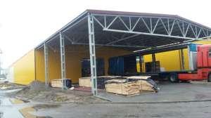 Изготовление и монтаж металлоконструкций в г. Тернополь. Ангары - изображение 1