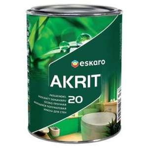 Интерьерная Краска Eskaro Akrit 20 (Акционная цена!) - изображение 1