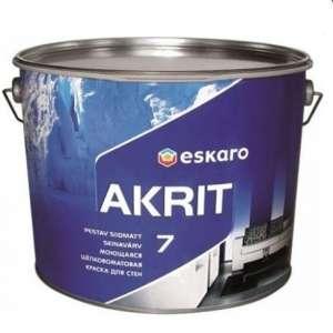 Интерьерная Краска Eskaro Akrit 7 (Акционная цена!) - изображение 1