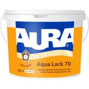 Интерьерный Лак Aura Aqua Lack 70 (глянцевый). 2,5 л. - изображение 1