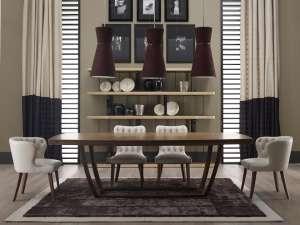 Итальянская классическая мебель, современная классика: шкафы, комоды, столы и стулья, кровати, кресла, диваны, тумбы, комоды - изображение 1