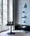 Итальянская мебель из стекла и стеклянные изделия: столы, стулья, тумбочки, полки, стеллажи, витрины - изображение 2