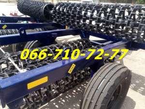 Каток для прикатывания посевов КЗК-6 ККш-6, оптимальная конструкция, доступные цены. - изображение 1