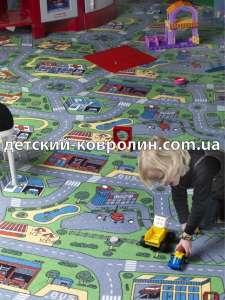 Ковры в детскую комнату City Life. Лучшие цены. Винница - изображение 1