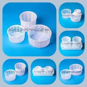 Комплект форм для сыра Делать домашний твердый сыр Дренажный коврик - изображение 1