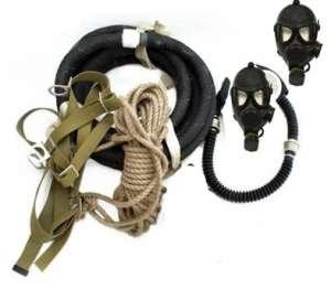 Купитьпротивогаз шланговый ПШ-110 метров с маской ГП-7.Заказатьпротивогаз - изображение 1