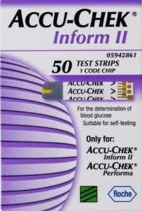 Купить тест-полоски для Accu-Chek Inform II (Акку-Чек Информ 2) - изображение 1