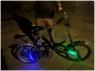 Легендарный Уникальный Ретро Велосипед BMX Складной с крутой ночной подсветкой аренда - изображение 2
