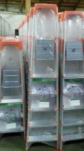 Лестница-стремянка алюминиевая Dozer (Турция) на 4, 5, 6 и 7 ступеней - изображение 1