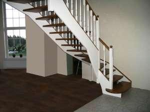 Лестницы деревянные под ключ. - изображение 1