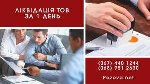 Ликвидация ООО в Киеве за 24 часа. Услуги по экспресс-ликвидации. - изображение 1