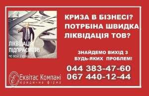 Ликвидация ООО под ключ Киев. Услуги по ликвидации ООО Киев. - изображение 1