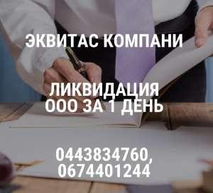 Ліквідувати ТОВ за 1 день Київ. Допомога в ліквідації підприємства. - изображение 1