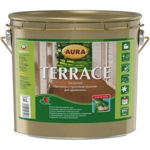 Масляная пропитка Aura Terrace, для террасной древесины (2,7 л.) Акционная цена! - изображение 1