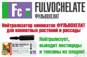 Нейтрализатор Химикатов Фульвохелат, выводит пестициды и токсины из плодов - изображение 1