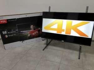 Новый Телевизор TCL 55 дюймов / 4K / Smart TV / WiFi + ПОДАРОК - изображение 1