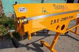 Оборудование для гибки метала (листогиб Sorex ZGR 2160) - изображение 1