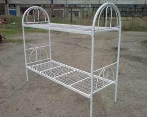 Односпальные кровати. Двухъярусные металлические кровати. - изображение 1