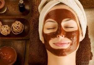 Омолаживающая альгинатная маска с какао для лица - изображение 1