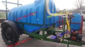 Оприскувач причіпний ОП Польша 2500, 18 метрів штанга - изображение 1