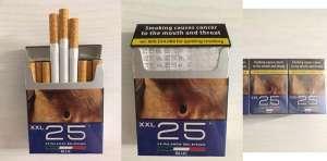Оптовая продажа сигарет 25XXXL 25 Blue Duty Free - изображение 1