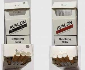 Оптовая продажа сигарет - Avalon Black, Red Duty Free - изображение 1