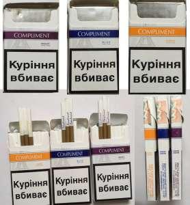 Оптовая продажа сигарет - Compliment blue 3, Amber 1, violet 5 Украинский акциз - изображение 1