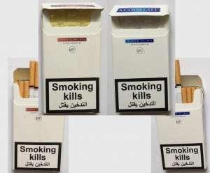 Оптовая продажа сигарет Marshal supere slims blue, red Duty Free - изображение 1