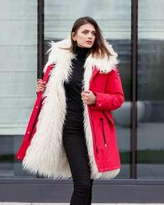 Парка молодежная зимняя. Пальто зима. Куртка женская. - изображение 1