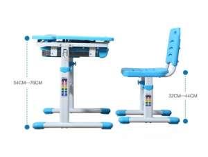 Парта трансформер для деток 5-18 лет Kids Study Desk Р140 комплект - изображение 1