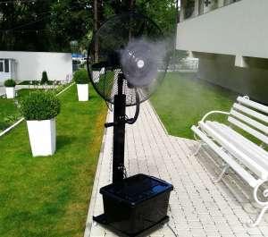 Переносной увлажнитель воздуха вентилятор туманообразование - изображение 1