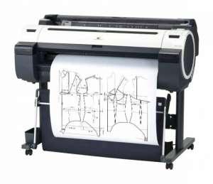 Печать лекал на широкоформатном плоттере - изображение 1