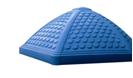 Пластиковые комплектующие детских площадок крыша шестиугольная. - изображение 1