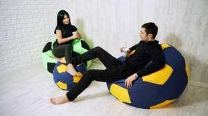 Продается бескаркасный пуф кресло-мяч от производителя - изображение 1