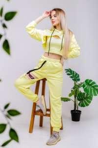 Продается лимонный костюм женский летний «LOOP» - изображение 1