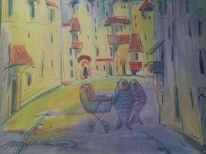Продам коллекцию картин известного одесского художника Шкуропат. А.И - изображение 1