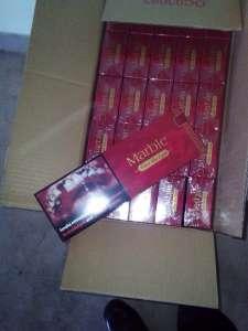 """Продам оптом сигарeты """"Marble (картон)"""". Опт от 5ящ-215$, от 10 ящ-договорная! - изображение 1"""