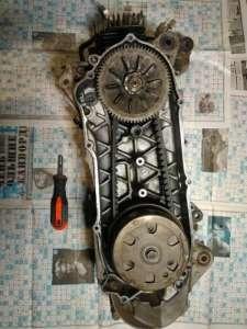 Продам рабочий движок на Suzuki street magik tr50v - изображение 1