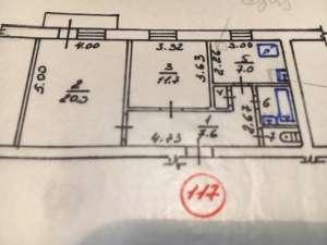 продається 2-х кімнатна квартира на 3 поверсі 5 поверхового будинку у м. Глухів Сумської обл. - изображение 1