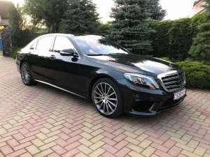 Прокат авто с водителем в Минске. Mercedes W222 Long S500 - изображение 1
